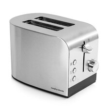 2 Slice Toaster in Stainless Steel