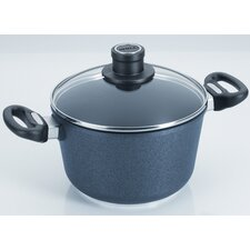 Diamond Plus 3.2-qt. Stock Pot with Lid