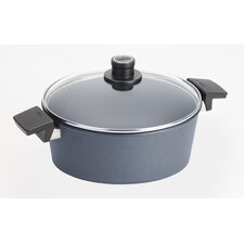 Diamond Plus 5.8-qt Round Casserole with Lid