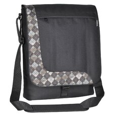 "Deluxe 12"" Messenger Bag with 1 Zippered Pocket"