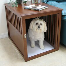 Crown Pet Crate End Table