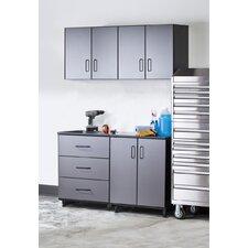 Tuff-Stor Tough Storage System 7' H x 5' W x 2' D 4-Piece Cabinet Set