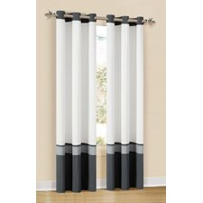 Oxford Grommet Window Curtain Panel