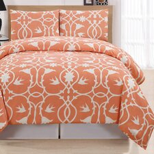 Kierra 3 Piece Full/Queen Duvet Cover Set
