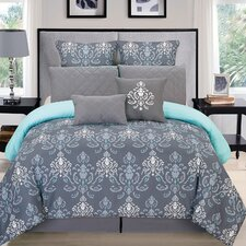 Lucienda 8 Piece Comforter Set