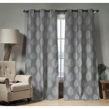 Iselin Blackout Curtain Panel (Set of 2)