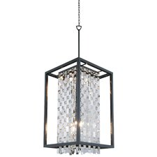 Amethyst 6 Light Foyer Pendant