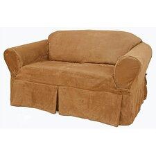 Suede Sofa Slipcover