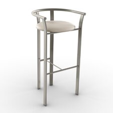 "Eco Style 27"" Bar Stool with Cushion"