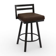 "Urban Style 26.75"" Swivel Bar Stool with Cushion"