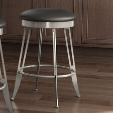 """Library Luxe Style 30"""" Swivel Bar Stool with Cushion"""