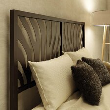 Zebra Metal Headboard