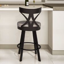 "Washington 26"" Swivel Bar Stool with Cushion"