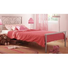 Love Twin Size Metal Bed