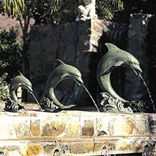 Single Dolphin Fountain