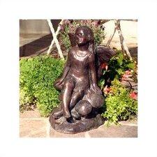 """Hen-Feathers """"Sunshine Fairy"""" Statue"""