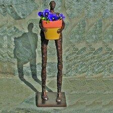 Garden Man Chest Statue