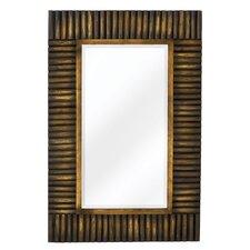 Mixed Media Rectangular Bevel Wall Mirror