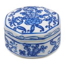 Small Floral Porcelain Box