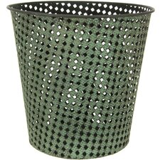 Round Wrought Iron Waste Basket