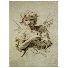 Angel Graphic Art on Wrapped Canvas