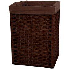 """17"""" Natural Fiber Basket in Mocha"""