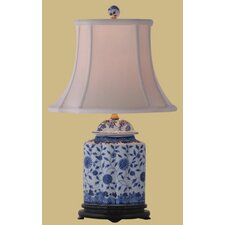 """Jar 23"""" H Table Lamp with Bell Shade"""