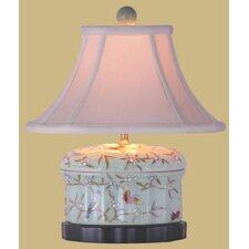 "16"" Porcelain Jewelry Box Lamp"