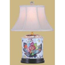 """19"""" Porcelain Oval Jar Lamp"""