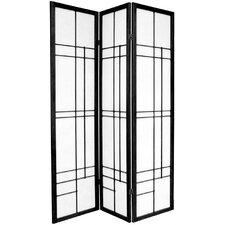 "70.25"" x 42"" Eudes Shoji 3 Panel Room Divider"