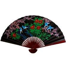Cherry Blossom Fan Wall Décor