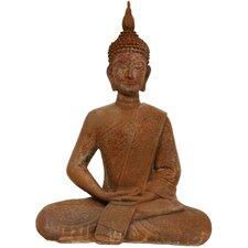 Thai Sitting Zenjo Buddha Figurine