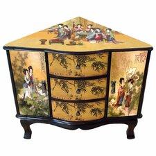 Enchanted Ladies Corner Cabinet