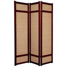 """71"""" Jute Shoji Room Divider"""