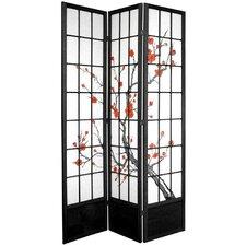 """83.5"""" Cherry Blossom Shoji Room Divider"""