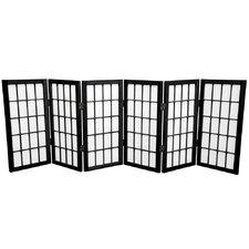 "24"" Shoji Window Pane Room Divider"