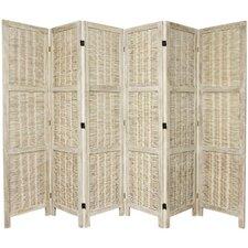 "67""x 105""Bamboo Matchstick Woven 6 Panel Room Divider"