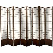 "83.5"" x 112"" Window Tall Pane Shoji 8 Room Divider"