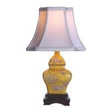 "14"" Porcelain Square Jar Lamp"