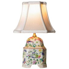 Porcelain Butterfly Canton Cover Jar Table Lamp