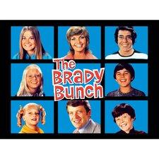 Brady Bunch Graphic Art on Canvas