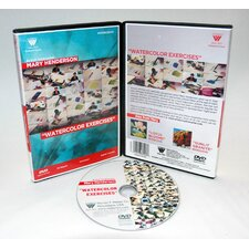 Mary Henderson Watercolor Exercises 1 Hour DVD