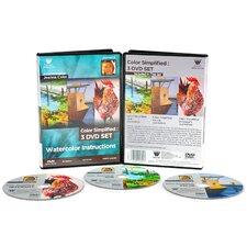 Joanna Coke Watercolor 168 Minute 3 Disc DVD Set