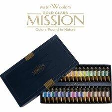 Mijello Mission Gold Class 15ml Watercolor (Set of 34)