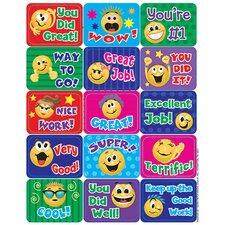 Emoticons Success Sticker (Set of 4)