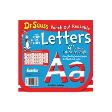 Dr Seuss 4 in Letters