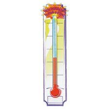 Banner Goal Setting Thermometer Tool (Set of 2)