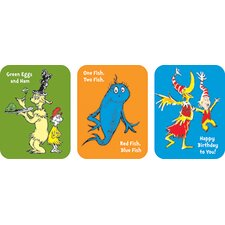 Dr Seuss Favorite Book Sticker (Set of 4)