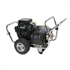 Water Shotgun 4000 PSI Cold Water Electric Start Gas Powered Pressure Washer w/ Vanguard Engine (Belt Drive)