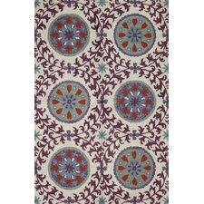 Seville Ivory/Lilac Rug